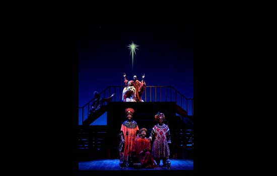 lighting design black nativity goodman theatre