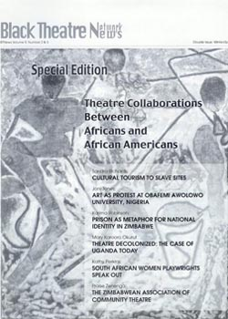 theatre collaborations between africans and and african americans