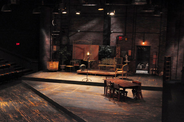 lighting design trouble in mind playmakers