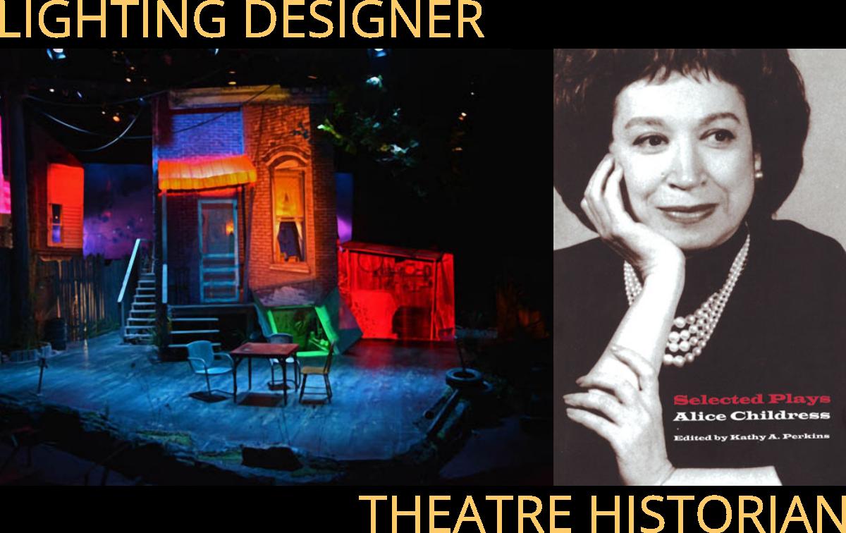 kathy perkins lighting designer theatre historian